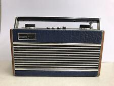Vintage Roberts Radio RF M3 - FM/MW/LW - Navy Blue Working