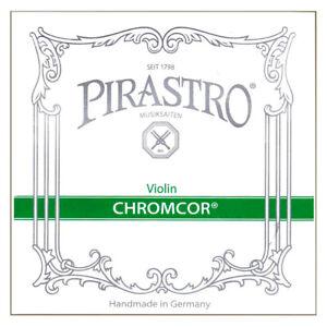 Violin String Pirastro Chromcor E A D G 4/4 Strings Full Set Up To AMEB Grade 6