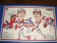 Chicago White Sox 1983 American League Western Div Champions Pizza Hut Placemat