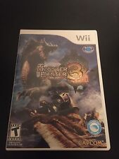 Monster Hunter 3 Tri (Nintendo Wii) Complete!! Fast Shipping!!