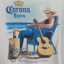 Kenny Chesney Corona Extra 2009 Concert Tour T Shirt Size Medium