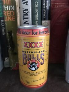 Beer Can - XXXX Queensland Bulls Sheffield Shield Fourex