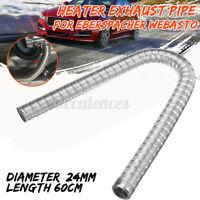60cm 24mm Stainless Steel Air Diesel Exhaust Pipe Cap 36061296 For Eberspacher