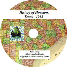 1912 History & Genealogy of HOUSTON Texas TX
