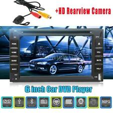 Cam+ 6 inch 2 Din Auto Car DVD CD Player GPS Navigation Bluetooth Radio W1K7