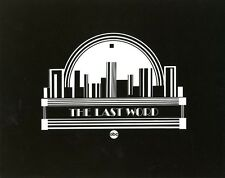THE LAST WORD LOGO ORIGINAL 1981 ABC TV PHOTO BILLBOARD