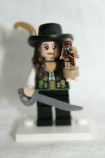 PIRATES OF THE CARIBBEAN #08 Lego Angelica w//sword Custom NEW Genuine Legos