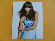 Jessica Alba 8x10 Autographed Photo