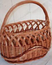 Calidad-La cesta de compra de mimbre-Hermoso, Picnic, verduras, frutas