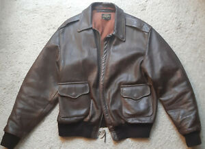 Original Eastman Leather A-2 Pilotenjacke