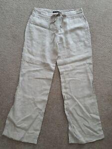Ladies Sz 10 David Lawrence Linen Pants