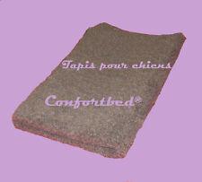 Tapis Confortbed Vetbed Eleveur marron uni, épaisseur 32 mm, 100x150 cm