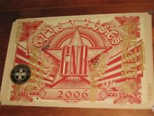 GUNS N ROSES - CHINESE DEMOCRACY - HAND SIGNED 2006 TOUR POSTER
