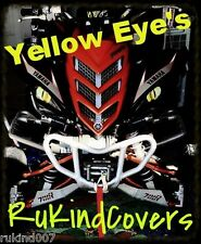 YAMAHA WOLVERINE YELLOW Raptor Eyes HeadLight Covers 06-2017