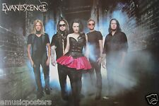 "Evanescence ""Group Standing In Smokey Alley"" Poster From Asia"