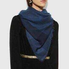 Écharpes et châles bleus en soie pour femme