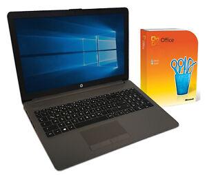 "HP 15,6"" Notebook ~ AMD 3150u ~ 8GB ~ 256SSD ~ DVD-RW ~ Full HD ~ Win 10 ~Office"