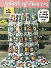 *Splash of Flowers Afghan crochet PATTERN INSTRUCTIONS