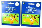 Lot Of 2 - Toys R Us - Geoffrey Giraffe Collectible Gift Card Store Exclusive  For Sale