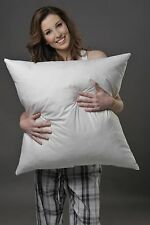 CONTINENTAL SIZE PILLOW 30% WHITE EUROPEAN DUCK DOWN, 80 CM2 AUSTRALIAN MADE