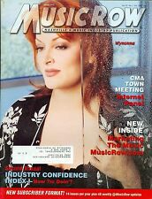 Wynonna Judd of The Judds cover Music Row magazine 2000
