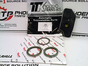 4R44E 5R55E TRANSMISSION REBUILD KIT + CLUTCH PACK 1997 UP 4 WHEEL DRIVE FORD
