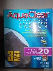 Aqua Clear AquaClear 20 / Mini 3-pack Carbon A-1380 A1380