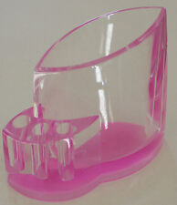 Beautiful, Fine Acrylic Pen Holder (Pink), NEW