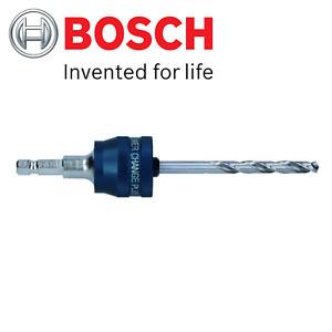Bosch Adaptor & Pilot Drill Bit Quick Change Release Holesaw Hole Saw Cutter