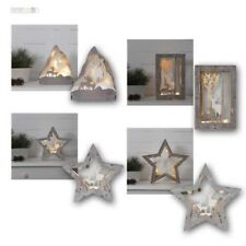 """LED Luz Decorativa Apliques de Ventana"""" Fauna """"Funcionamiento Decoración Navidad"""