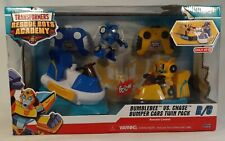 Rescue Bots Academy Bumblebee vs. Chase R/C Bumper Cars Vehicle 2-Pack