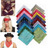 Color Paisley Bandana Headwear Hair Bands Scarf Neck Wrist Wrap Band Head Tie