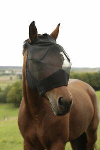 Fliegenmaske mit Ohrenaussparung Pferdemaske Fliegenschutz