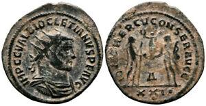 DIOCLETIAN (284-305 AD) AE Antoninianus. Antioch #TF 8501