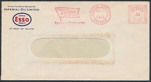 1954 Imperial Oil ESSO Cover With Advertising Meter, Leaside Toronto