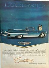 1983 Cadillac Moloney Pullman Limousine Vintage Advertisement Car Ad J15