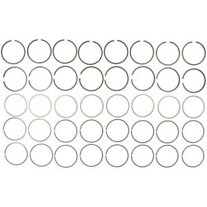 """MAHLE Clevite Piston Ring Set 40203CP.030; Moly-Faced 4.280"""" Drop-In Replacement"""