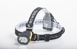 PORTWEST PA63 Dual Power Kopflampe, Lampe, Taschenlampe, Stirnlampe, Outdoor,
