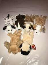Lot Of 6 Vintage TY BEANIE BABY Dogs 🐶
