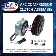 A/C AC Compressor Clutch Assembly Fits York Models 2 Wire 6 Grooves 12 Volt