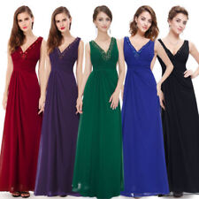 Christmas Special Occasion V-Neck Dresses for Women