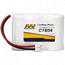 CTB56 3.6V NiMH Cordless Phone Battery