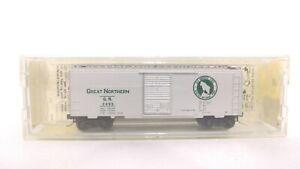 Kadee Micro Trains N GN Great Northern 40' Std Steel Single Door Box Car 20100