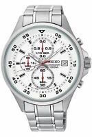 Seiko SKS623 Chronograph Silver White Stainless Steel Mens Watch SKS623P1