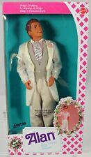 Alan Doll Groom of Midge Foreign #9607 New NRFB 1990 Mattel, inc. 3+