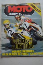 MOTO JOURNAL 354 Spécial Side Car JAWA DAYTONA Championnat France à NOGARO 1978