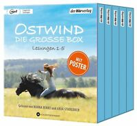 OSTWIND-(1-5)DIE GROßE BOX - STADLOBER,ANJA/BINKE,HANNA  5 MP3 CD NEW