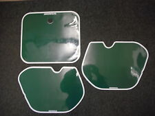 Number Backgrounds CR 250 1985-1986 GREEN  CR 125 500 85-86 Decals white line