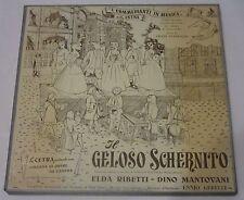 Pergolesi - IL GELOSO SCHERNITO - Ribetti, Mantovani, Paternieri - BOX LP Cetra