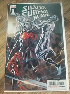 Silver Surfer Black 1 2nd Print Knull Cover Cates Stegman